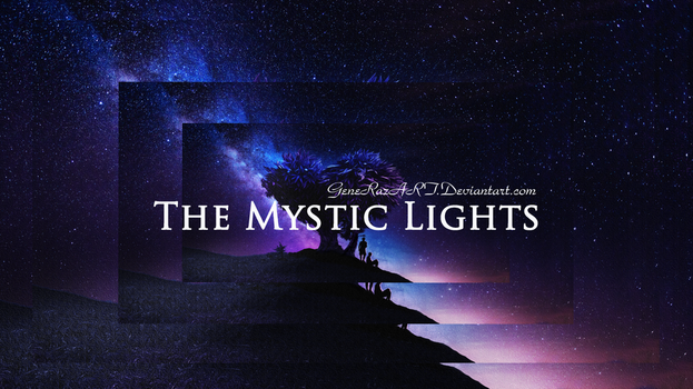 The Mystic Lights Mosaic by GeneRazART