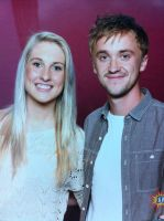 Me and Tom Felton aka Malfoy by collective-soul