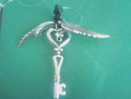 Heart Key with Wings by Vamp2004