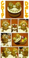 chip and dale cookie container by lololollipop