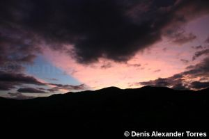 Andean Sunset by torreoso