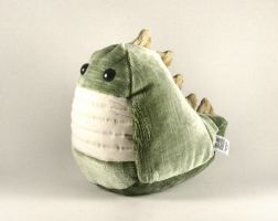 Upholstered Spike Plushie 1 by Saint-Angel
