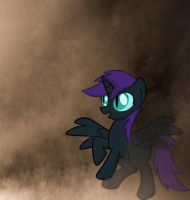 Nyx in sandstorm by Stonehallow