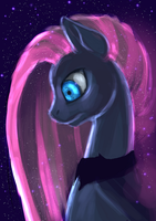 Nightmare Pinkie Pie by ElkaArt
