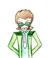 Young Justice Riddler by mirkwoodprincess123