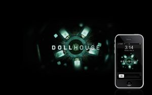 Dollhouse - iPhone wall by deino-erd