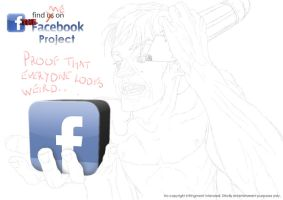 The Facebook Project Cover by KyleArmstrong