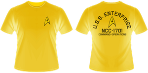 Enterprise Com Ops T-Shirt by viperaviator