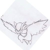 VampireFakemon NightFormSketch by mssingno