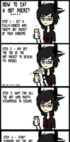 How to Eat a Hot Pocket by Skoryx
