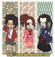 SAMURAI CHAMPLOO BOOKMARKS by Chancake