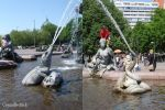 Animal Fountains pack by Comacold-stock