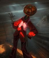 Jack Pumpkinhead by Pervandr