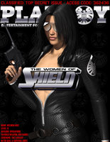 The Women of SHIELD - Playboy Pardoy Cover by Sailmaster-Seion