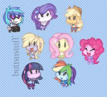 Equestria Girls by buttsnstuff