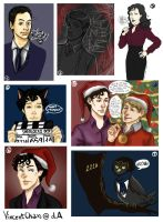 Sherlock Sketch Dump II by VincentChan