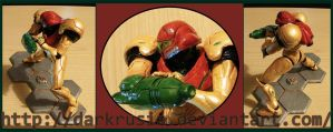 "Samus figure ""01"" by The-Replicant"