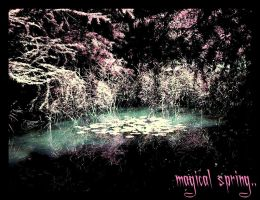 .magical spring. by ChaosIsMeWatkins225