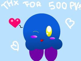 Thanks for 500 PVs. by Evomanaphy