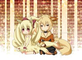 CM: Yurumaster - Ninetales and Arcanine by Sniggle-Wiggle