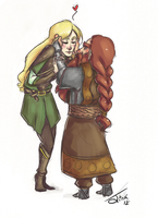 Middle Earth Cutie Patooties by TangerineWuki