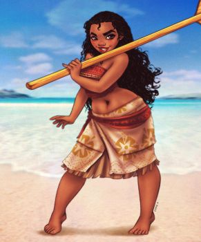 Moana by EddieHolly