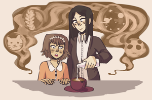 TG Girl Week Day 2 by square-root