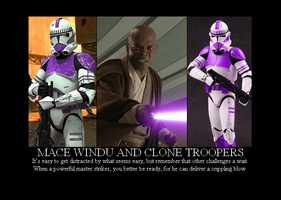 Mace and Clone Troopers by Winter-Phantom