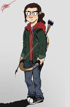 Ellie - The Last of Us (Winter) by TheAndyScout