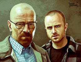 Breaking Bad by FonteArt