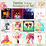 2011 Summary of Art by Yamio