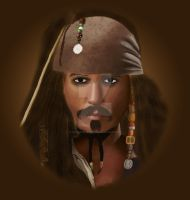 Captain Jack Sparrow by Horsemanship