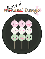 Kawaii Dango by CL-Pinkskull