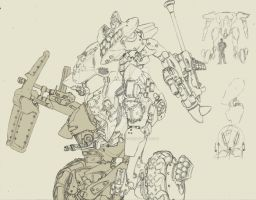 Tankbuster by shinsengumi77