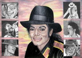 Michael Jackson Tribute by Delinlea
