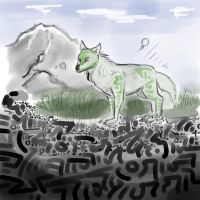 1/1/13 wolf -3 by Labyrinther