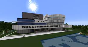 Minecraft - Solomon R. Guggenheim Museum by MinecraftArchitect90