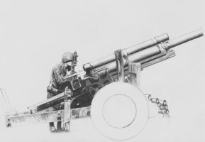 105mm Howitzer by nitsuj-ex
