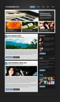 Magazine/blog theme by nodethirtythree