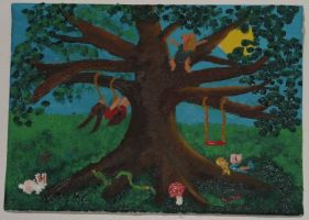 fanciful fig tree playground by mermaidian