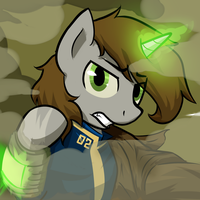 #Hellmare (Littlepip Icon Clean) by sitrirokoia