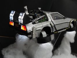 A Flying Delorean! by BRSpidey