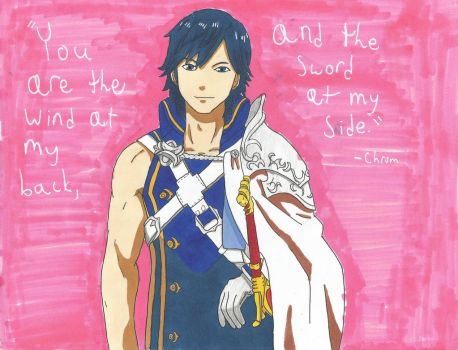 My Valentine, Chrom by SenpaiTurboblaze