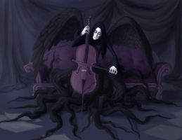 Death as a Cellist by Enamorte