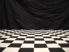 Checker Floor by UrbanNature-Stock