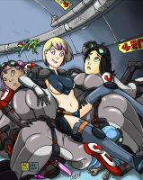 Alexichabane: Engineering? Come in, Engineering! by RemnantComic