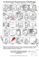 Altair's 25 expression by SplitMind-90