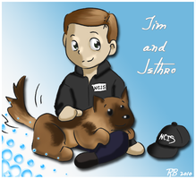 NCIS - Tim and Jethro by Azuhra