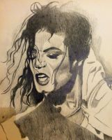 Michael jackson sketch 1 by dezz1977