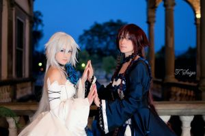 Pandora Hearts - twins of the abyss by giuccin